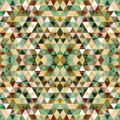 Triangular Mosaic Colorful BackgroundŒ