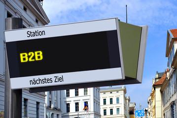 Anzeigetafel 7 - B2B