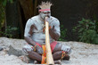 Leinwanddruck Bild - Aboriginal culture show in Queensland Australia