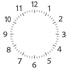 時計 数字