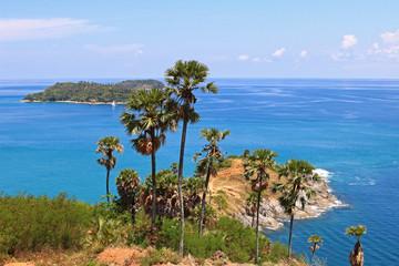 Laem Phromthep Cape viewpoint in Phuket Province,Thailand