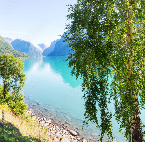 Lake in Norway - 73766955