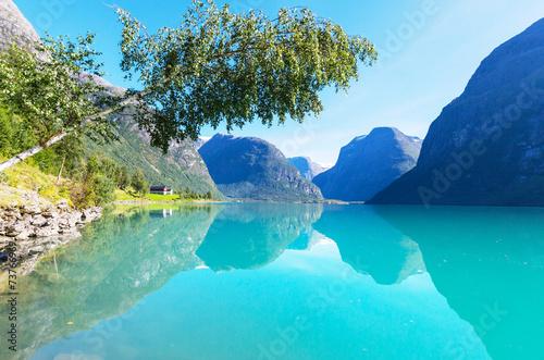 Lake in Norway - 73766969