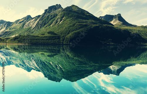 Lake in Norway - 73766998