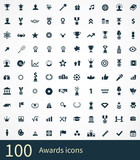 Fototapety 100 award icons