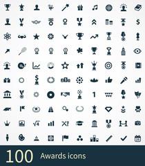 100 award icons