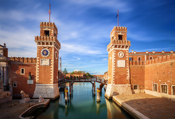 Porta dell' Arsenale. Venice. Italy.
