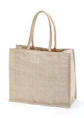 Eco  Shopping bag. isolated on white