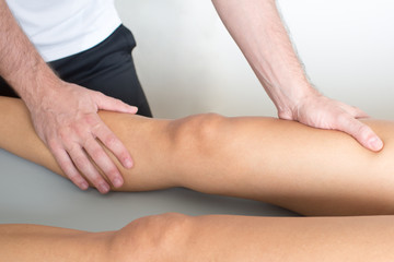 Unterschenkelmassage