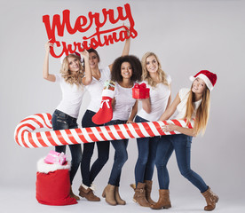 We wish you the best Christmas time