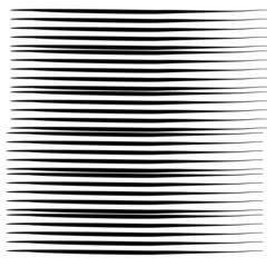 Vector set of grunge brush on white background