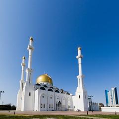 Nur-Astana Mosque. Astana, Kazakhstan