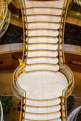 Marble and Brass Staircase