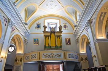 Mother Church of Viggianello. Basilicata. Italy.