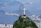 Fotoroleta Aerial view of Rio de Janeiro