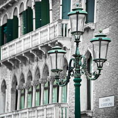 Citylights in Venice, Italy