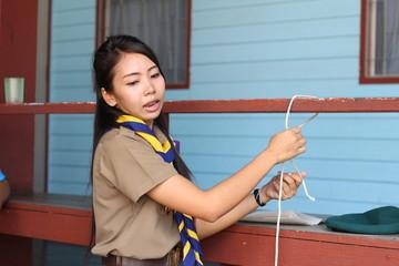 thai teacher girl scouts