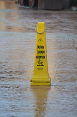safety cone wet floor