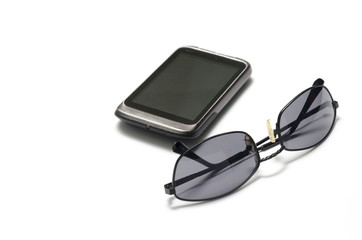 sunglasses with smart phone