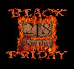 Black Friday November 28.