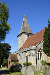 Holy Trinity Church. Bosham. Sussex. England