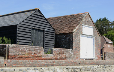 Barns in Bosham. Sussex. England
