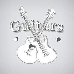 Acoustic and Bass Guitars