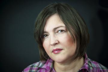 Portrait of adult woman