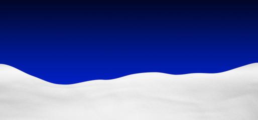 Hintergrund, Schneelandschaft, Winter, Schnee, dunkelblau, blau