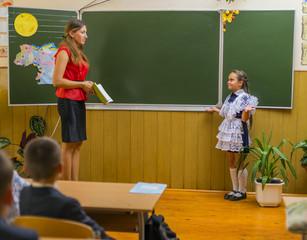 pupil and teacher