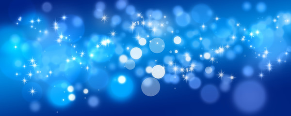 Flirrender Hintergrund Blau