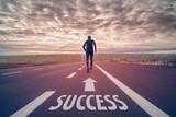 Run to success poster
