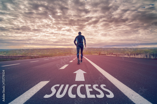 Run to success poster