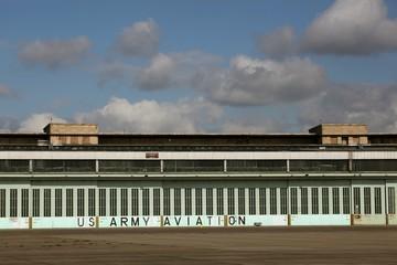 Abandoned Berlin Tempelhof airport, Germany