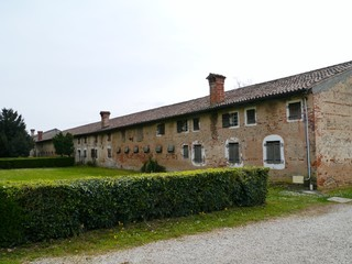One of the historic farmhouses belonging to the Emo villa