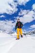 Spass im Schnee mit Schneeschuhen