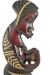 African statuette