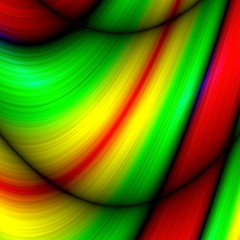 Abstract multicolor rainbow wawe background