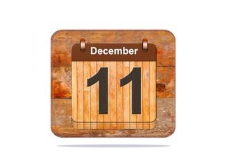 December 11.