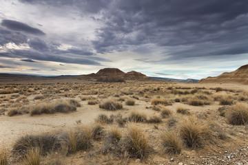 Desierto de las Bardenas Reales. Navarra.