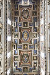 Chiesa di San Marcello al Corso soffitto a cassettoni- Roma