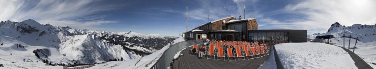Panorama Oberstdorf Skigebiet