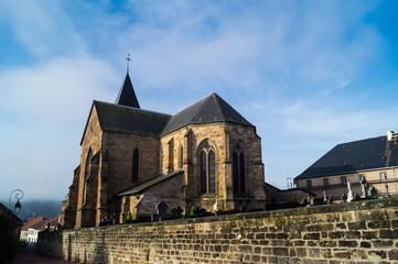Kirche in Hombourg - Haut