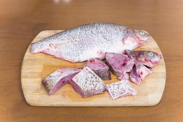 Purified fresh fish bream