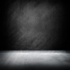 metal interior background