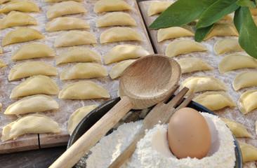 préparation raviolis fait maison