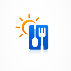 logo business abstract Restaurant Menu icon