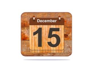 December 15.