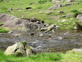 Snowdonia water stream