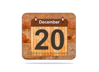 December 20.
